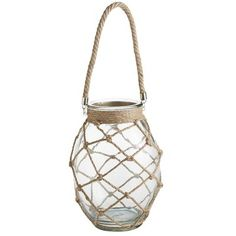 HACK! Glass Rope Lantern - Large - Perfectly Beachy!!!
