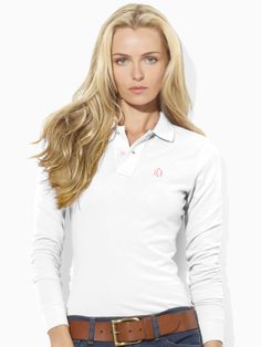 Long-Sleeved Skinny Polo - Create Your Own Create Your Own - RalphLauren.com
