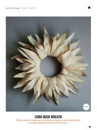 "I saw this in ""Homespun for the Holiday"" in Martha Stewart Living November 2013."