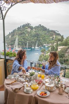 Breakfast at Portofino