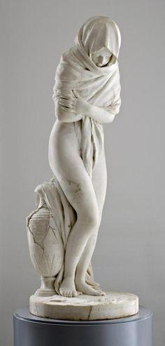 Jean-Antoine Houdon (1741-1828)    La Frileuse, 1787  Winter
