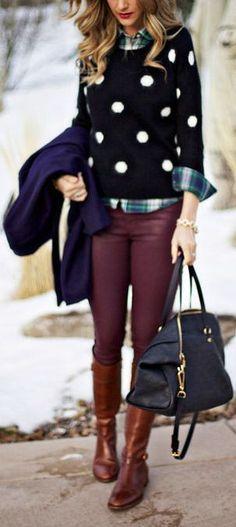 FASHION AND STYLE: Winter fashion