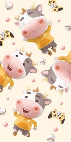 Birthday Wishes For Mother, Birthday Blessings, Animated Cow, Year Of The Cow, Baa Baa Sheep, Cow Wallpaper, Cows Mooing, Cute Piggies, Cute Cows