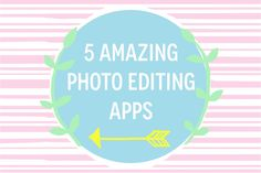Blogging Tips: Best Photo Editing Apps For Instagram and Your Blog http://minivideocam.com/how-to-choose-the-best-camera-for-youtube/