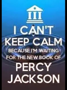 I wish...RICK MAKE ANOTHER PJO OR HOO BOOK OR JUST ANYTHING WITH PERCABETH!!!!!!!!!