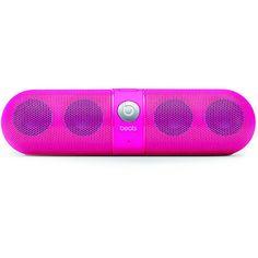 Beats By Dre Beats Pill Neon Pink Wireless Speaker