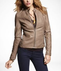 I like this jacket! And no leather!