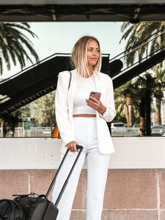 Janni Delér Spring Fashion, White Jeans, Spring Summer, Pants, Outfits, Style, Closet, Fashion Styles, Pictures