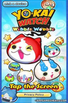 Yo-Kai Watch Wibble Wobble Cheats & Hack for Y-Money  #Popular #Puzzle #WibbleWobble #YoKaiWatch http://appgamecheats.com/yo-kai-watch-wibble-wobble-cheats-hack/
