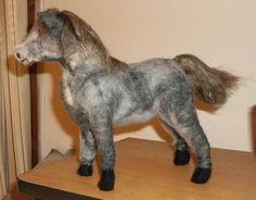 Needle Felted Wild Chincoteague Pony