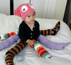 Octopus costume. Homemade Halloween Costumes for Kids - Easy Homemade Kids Halloween Costumes - Country Living.