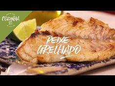 Peixe grelhado - badejo - YouTube