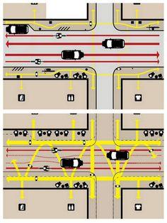 slow ottawa on Urban Planning, Pedestrian, Utrecht, Ottawa, Urban Design, Bicycles, Maps, Transportation, Arch