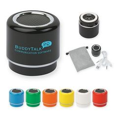 NEW Promotional Nano Speaker #advertising #gifts #promoproducts | Customized Nano Speaker | Logo Speakers