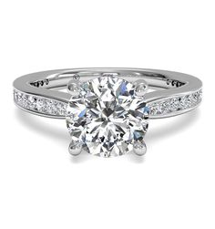 Cute but with princess cut stones! Engagement Ring Setting – Diamond Cellar