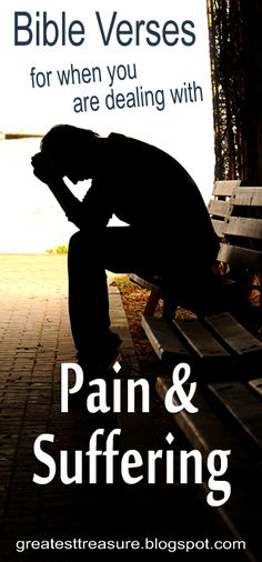 Don't be not be shaken! Check out these uplifting Bible verses when you are dealing with pain, hurt, or suffering.