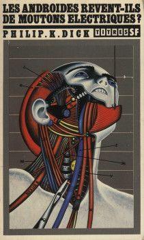Les Androïdes rêvent-ils de moutons électriques? Philip K. Dick #1968 [Ed, France 1979] #Keleck #Illustration #SciFi #WishList