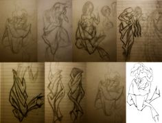 rough In The Pulse Of The Verses - Cîr's Tale (Part 3) sketches