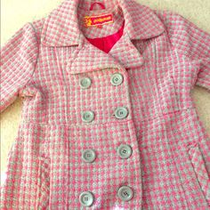Closet Clean out Sale Girls Dollhouse Coat This coat is perfect for a tween daughter or little sister! It has barely been worn and is in great condition; it's ready for a new home! Dollhouse Jackets & Coats Trench Coats