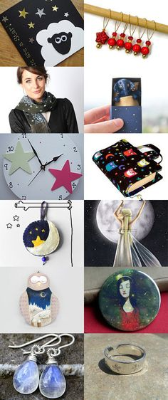 Twinkle Twinkle by Pat Longmuir on Etsy--Pinned with TreasuryPin.com