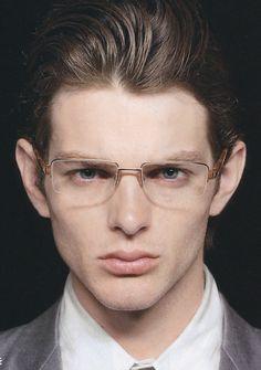 99dba3469ec Men s fashion tips rimless glasses