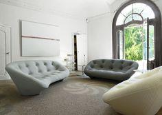 PLOUM, Canapés Designer : R. & E. Bouroullec | Ligne Roset