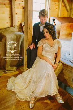 Another ethical wedding dress for Anne Noelle Bridal!