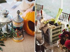 the one on the right makes me think of festivals for sure! would be cool centerpiece idea.