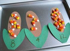Preschool Halloween Candy Corn