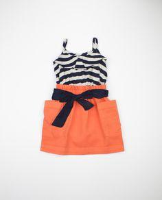 Anthem-Of-The-Ants-Orange-Poppy-Sail-Away-Dress-Front  www.thewhiteorchard.com