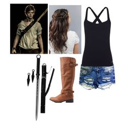 """""""Being Newt's Best Friend -Maze Runner-"""" by hannahsenpai ❤ liked on Polyvore featuring Paul Brodie, Lorna Jane and Qupid"""