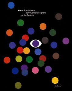 IDEA magazine Special Issue, 30 Influential Designers of the Century, 1984; Cover Design: Paul Rand