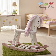 This would be great in a little girl's play room - Fantasy Fields - Princess & Frog Rocking Horse