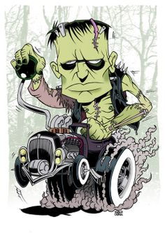Franken-Fink, Ed 'Big Daddy' Roth inspired piece (2011)