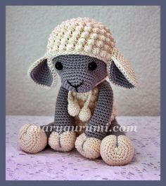 Sheep crochet - pattern €5,90 https://www.etsy.com/nl/listing/244021373/pattern-sheep-lamb-amigurumi-sheep?ref=shop_home_active_2