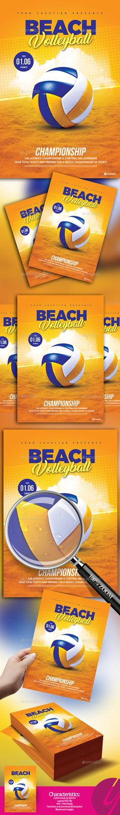 Sport Event Promo Flyer - flyer samples for an event