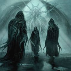 Risultati immagini per cthulhu Hp Lovecraft, Lovecraft Cthulhu, Cthulhu Art, Call Of Cthulhu, Arte Horror, Horror Art, Dark Fantasy Art, Fantasy Artwork, Necronomicon Lovecraft