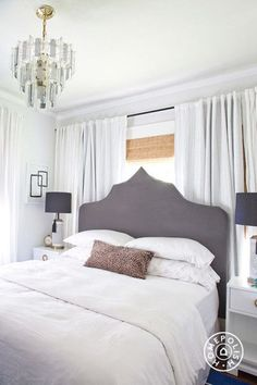 May Richer Fuller Be: Beds in Front of Windows {Yes You Can!}