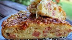 Η πιο τραγανή και εύκολη ζαμπονοκασερόπιτα θα βγει από τον φούρνο σου / Food / Woman TOC