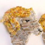 Shawn Smith's Pixel Sculptures