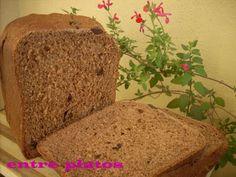PAN DE CHOCOLATE (PANIFICADORA) Bread Machine Recipes, My Recipes, Banana Bread, Desserts, Lidl, Food, Chocolates, Noodle, Pizza Recipes