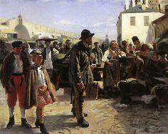 Vladimir Makovsky [1846-1920]. O/C. 1879.