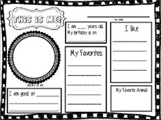 Project Second Grade: First Day of School Activities