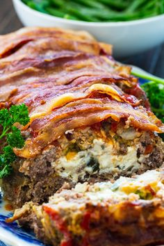 Cheese Stuffed Meatloaf, Bacon Meatloaf, Bacon Wrapped Meatloaf, Cream Cheese Stuffed Jalapenos, Stuffed Meatloaf Recipes, Stuffed Peppers, Meatloaf With Stuffing, Meatloaf Muffins, Cooking Meatloaf