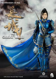 The Great Wall – Commander Lin Mae 1/6 Scale Figure by ThreeZero - The Toyark - News