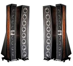 Gryphon Poseidon - A passive crossover in the mid-high tower uses carefully selected custom components to ensure ideal phase at all frequencies. A separate active low-frequency crossover resides in the bass tower. Read more at http://www.soundandvision.com/content/gryphon-poseidon-speaker#dtDky5khWos4CZgU.99