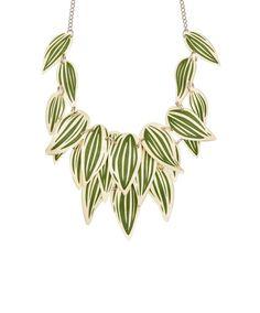 Tatty Devine Still Life Plant Necklace