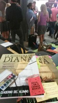 El Pack Académico de La Aventura de Diana en modo emprendedor social en el #WeStartSocial en Wayra  la incubadora aceleradora de Telefonica. INNOVATION FOR A BETTER WORLD.