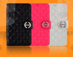 HONORABLE LUXURY QUILTING DIARY WALLET CASE FOR GALAXY CORE ADVANCE. $25.00