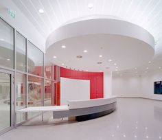 BBC Broadcasting Studio Interior, London